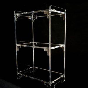 Designed Acrylics - Book & Display Shelves